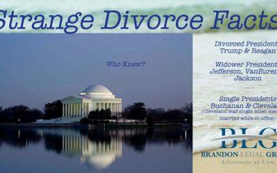 Strange Divorce Facts – Divorce & Presidents