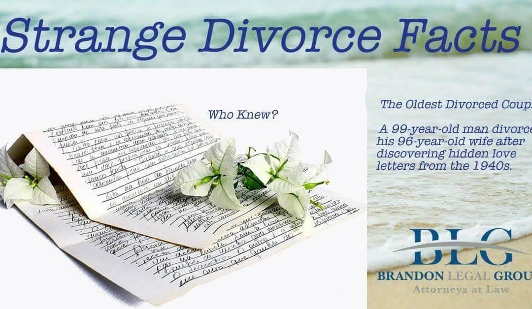 Strange Divorce Facts – The Oldest Senior Divorce