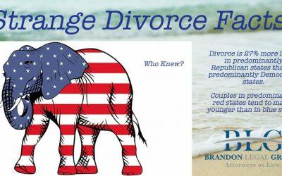 Strange Divorce Facts – Red State Divorce Rates