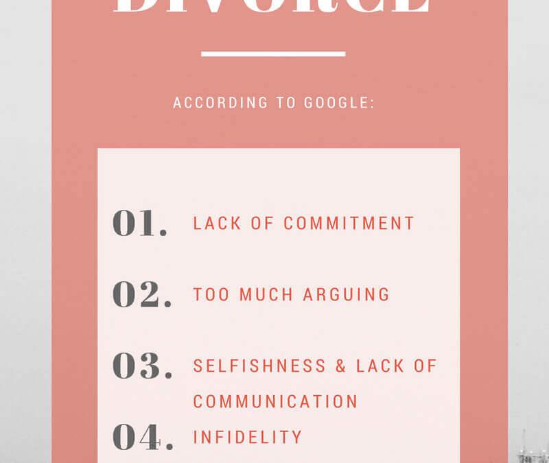 Top 5 Reasons for Divorce