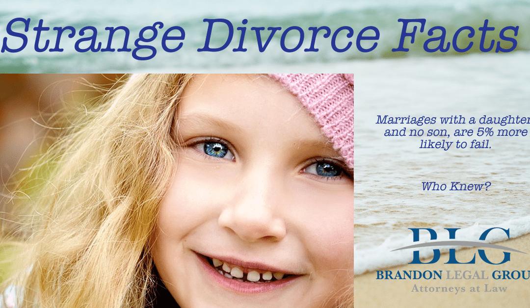 Strange Divorce Facts – Divorcing With Children