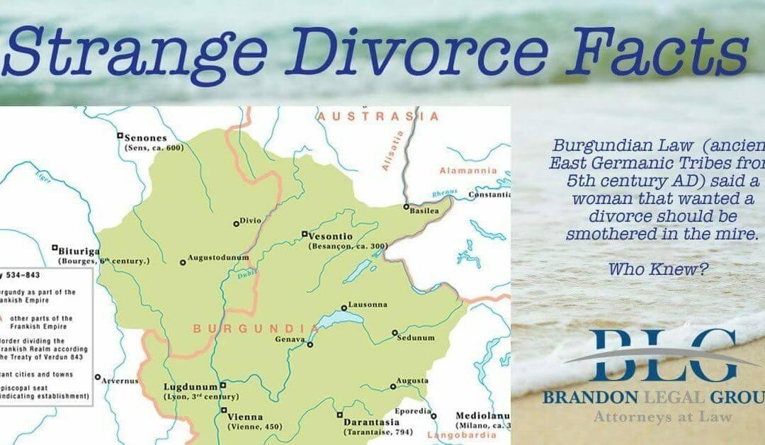 Strange Divorce Facts, Burgundian Divorce Law