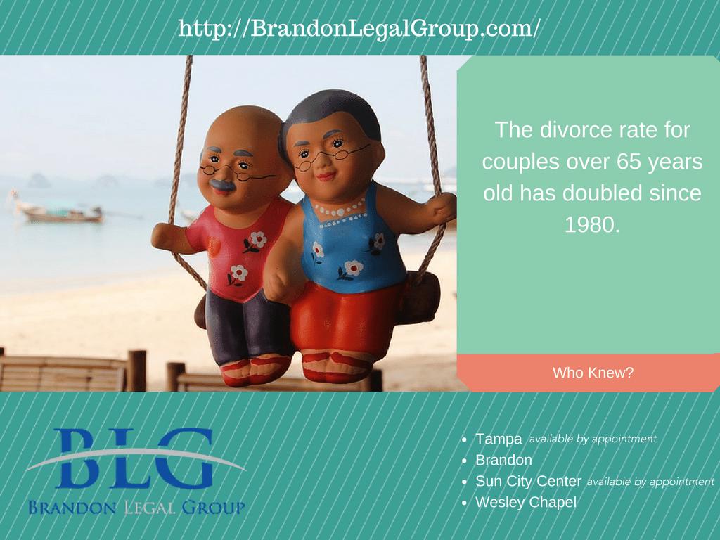 """Odd Divorce Facts – Older Couples Divorce Rates """"Gray Divorce"""""""