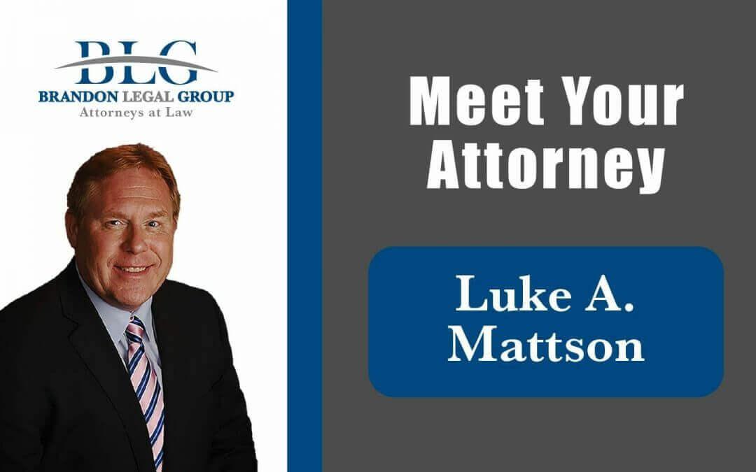 Luke A. Mattson  attorney Brandon Legal Group