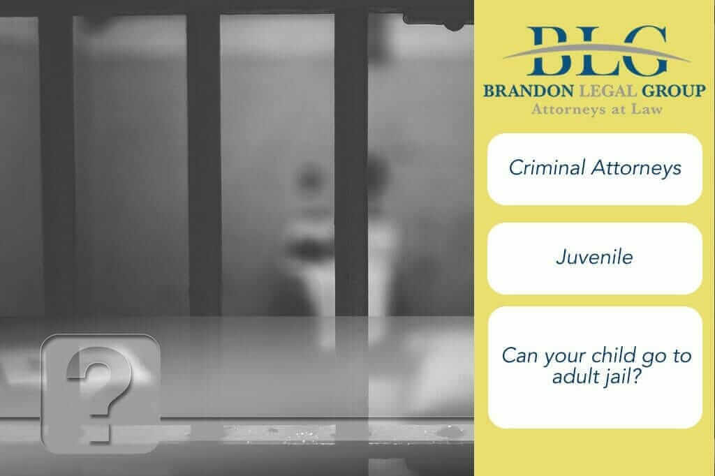 Can your child go to an adult jail?  Juvenile Arrest Questions