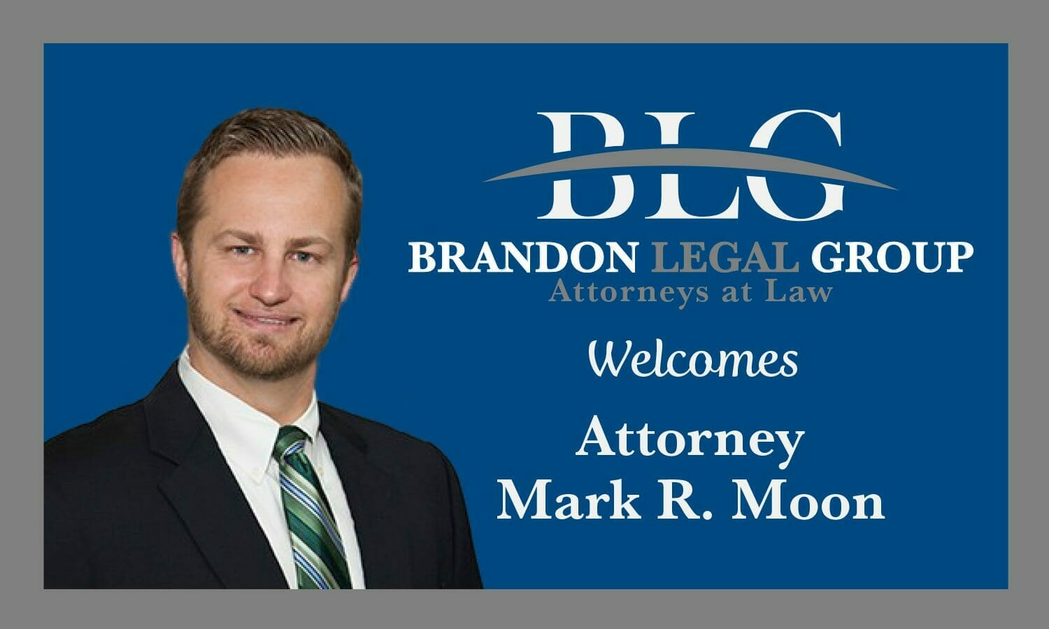 BLG Welcomes New Attorney Mark R. Moon