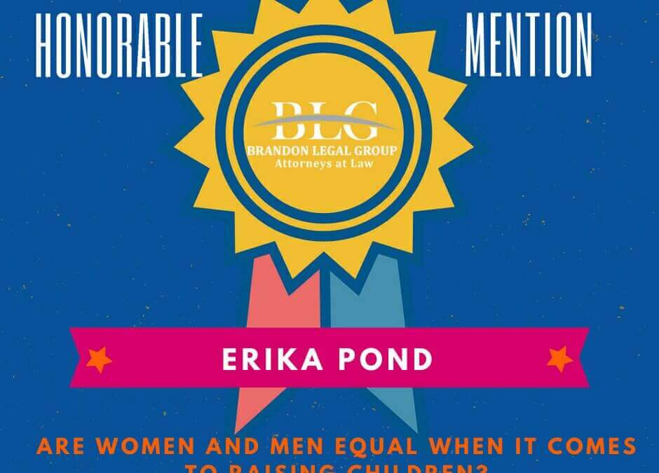 Legal Scholarship Honorable Mention Erika Pond
