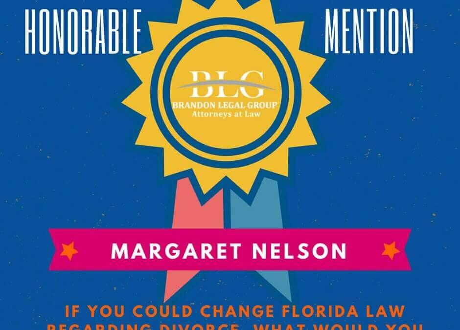 Legal Scholarship Honorable Mention Margaret Nelson