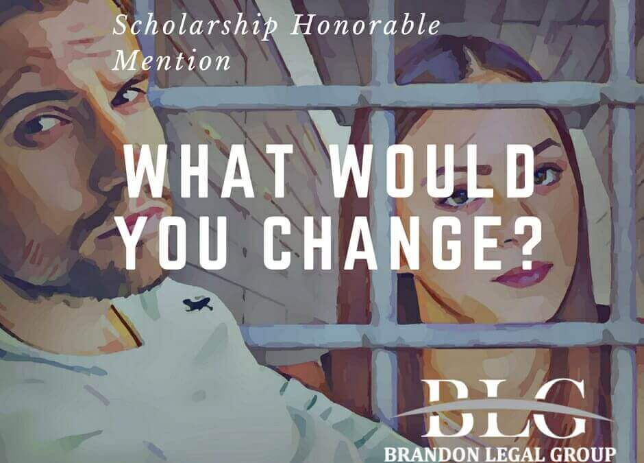 Scholarship Honorable Mention – Child Support