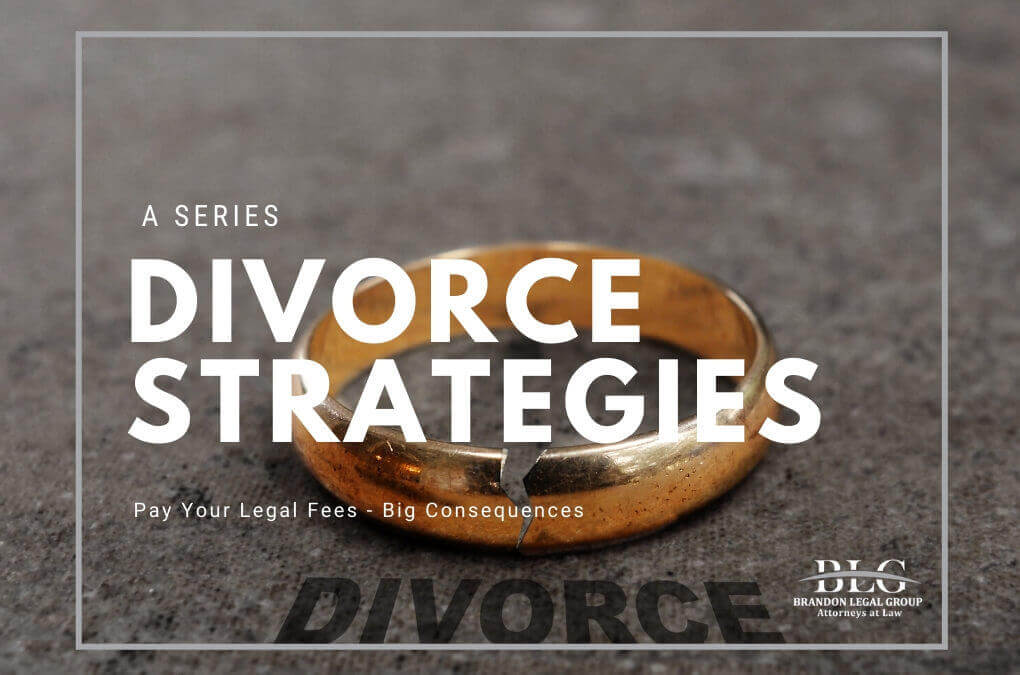 court ordered legal fees in divorce