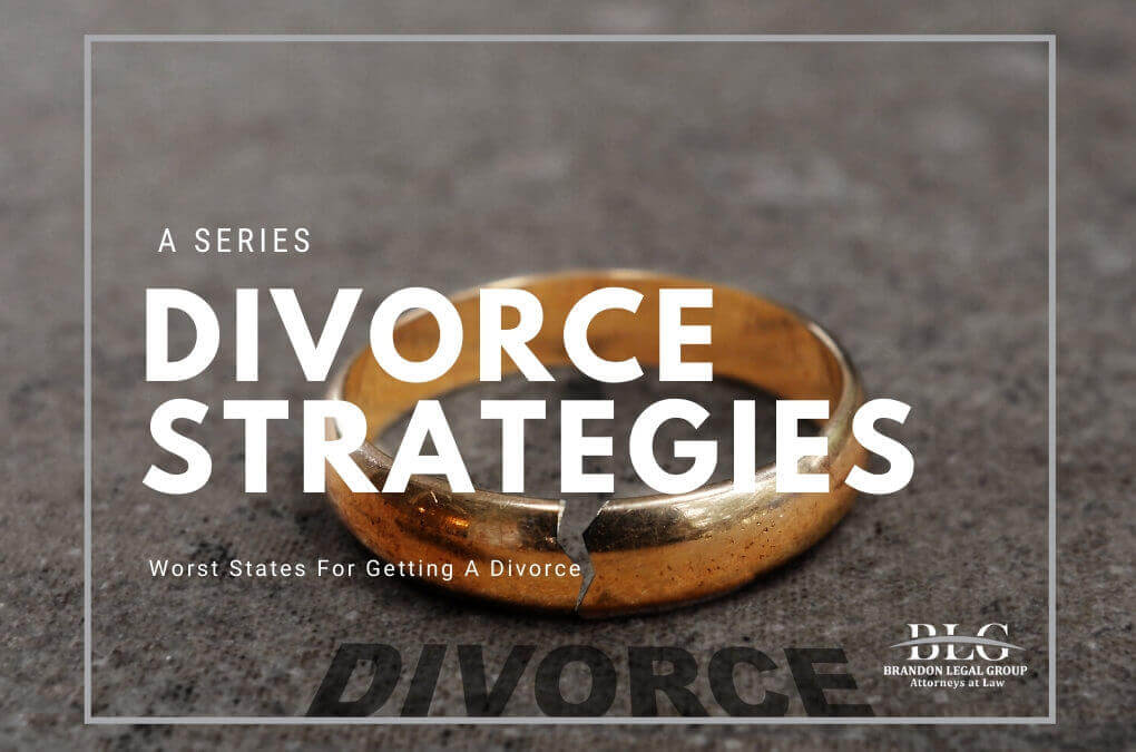 Divorce Strategies - Worst States
