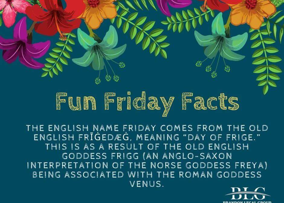 Fun Frday – Facts