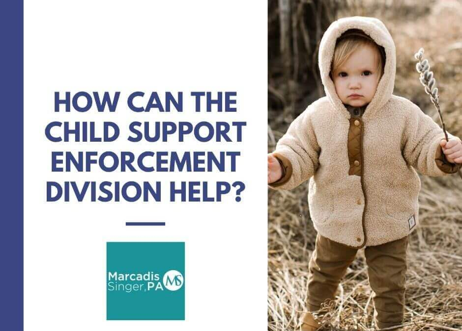 How Can The Child Support Enforcement Division Help?