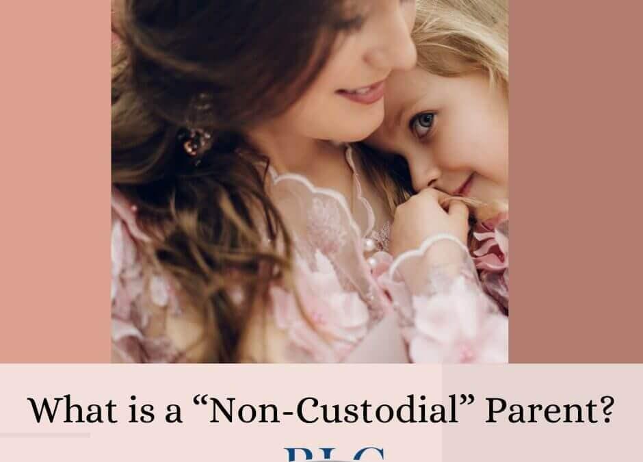 "What is a ""Non-custodial"" parent?"