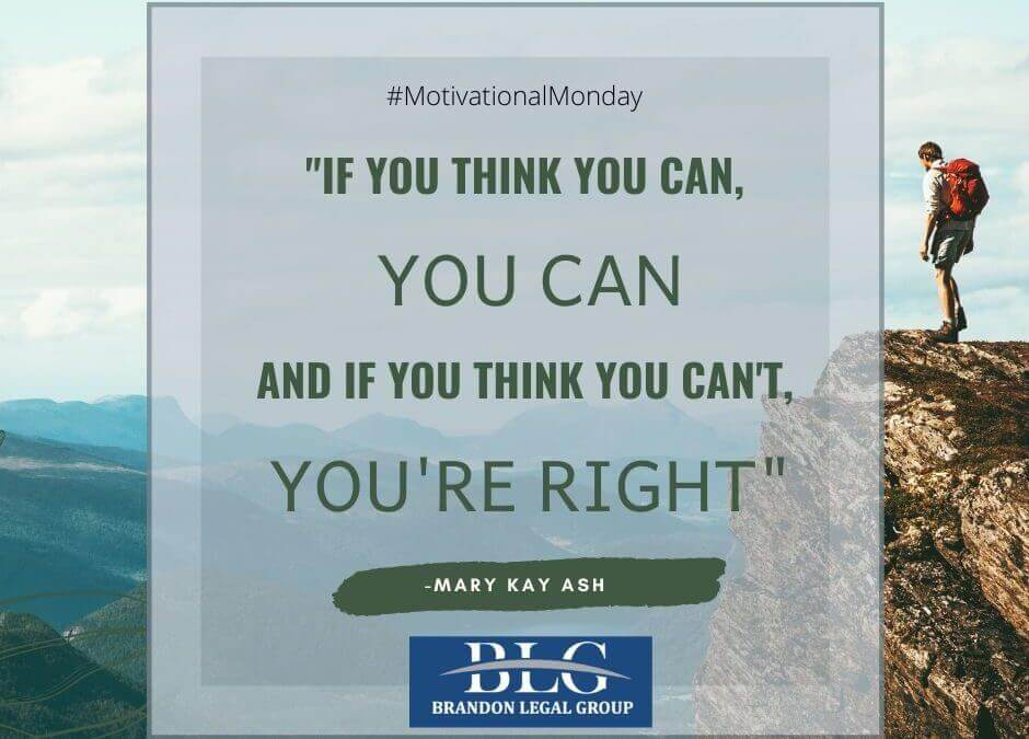 Motivational Monday – You Can!