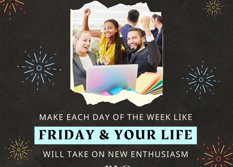 Fun Friday – New Enthusiasm!