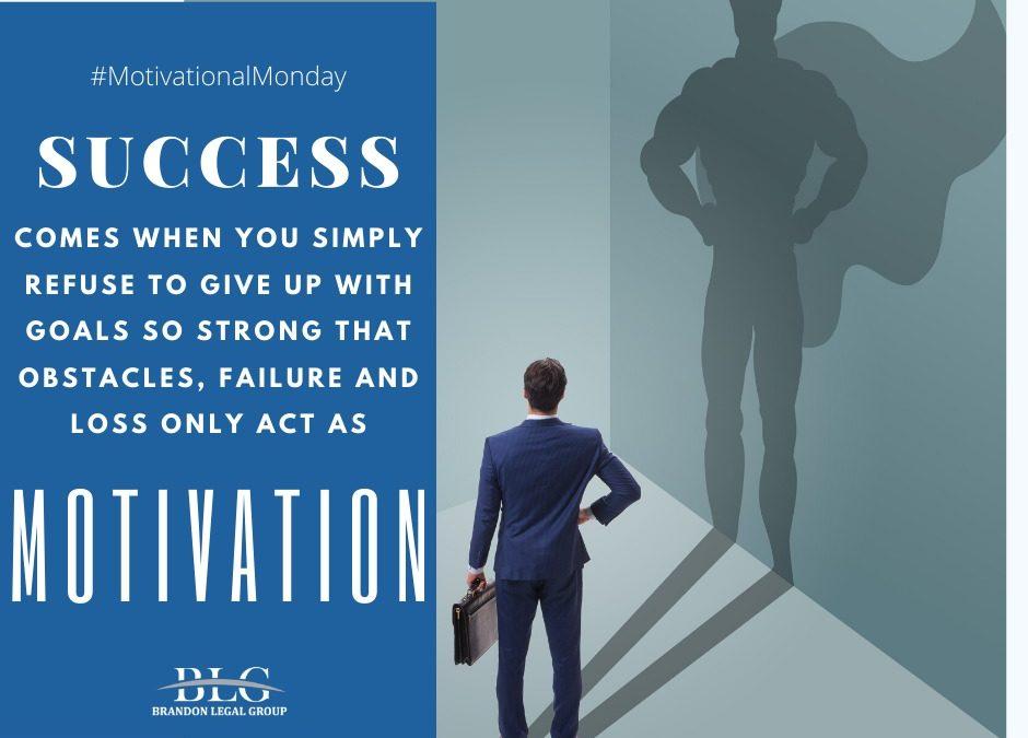 Motivational Monday – Success