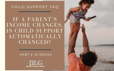 If a Parent's Income Changes, Is Child Support Changed?