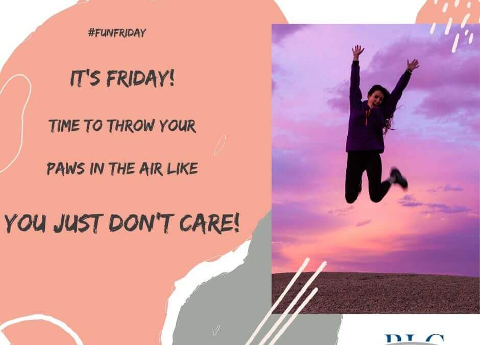 Fun Friday – Don't Care!