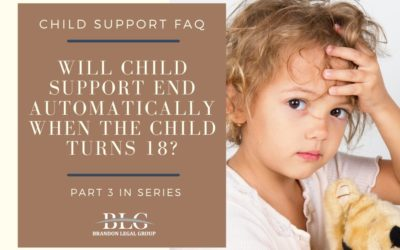 Will Child Support End Automatically When the Child Turns 18?