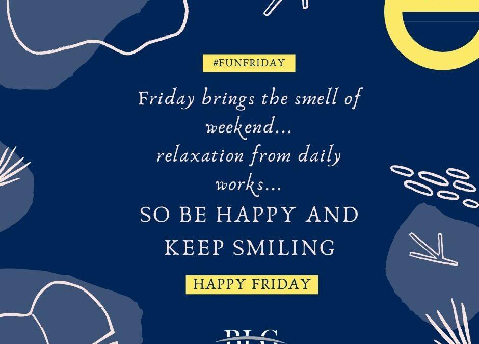 Fun Friday – Be Happy!