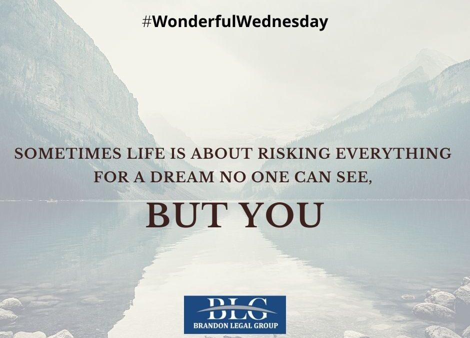 Wonderful Wednesday – Risk!