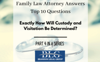 Custody and Visitation – Fourth in a 10 Part Divorce Q&A