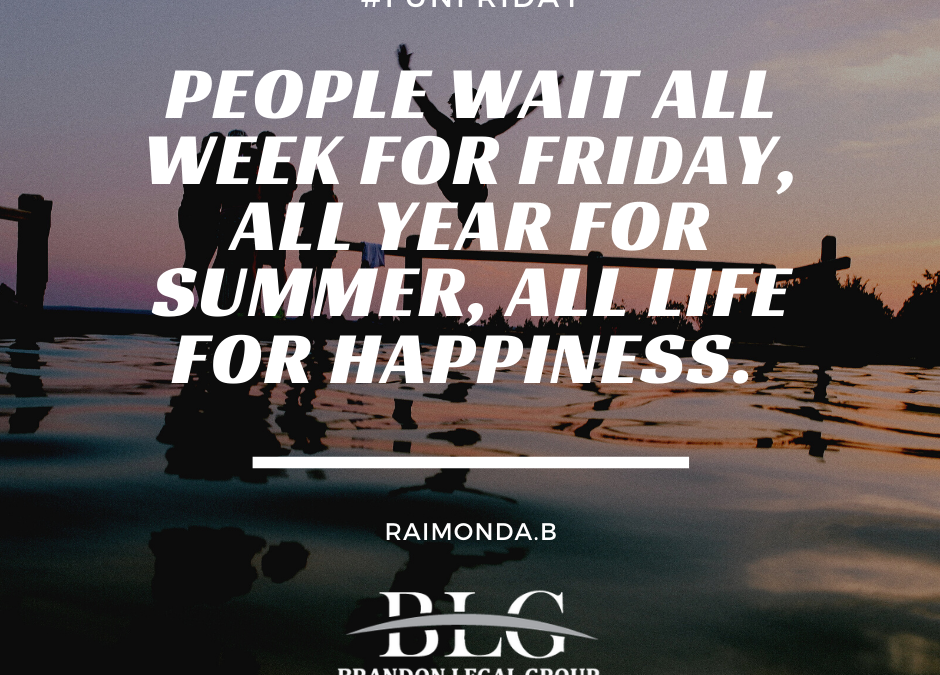 Fun Friday – Wait for Friday