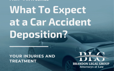 What To Expect at a Car Accident Deposition – Fourth in a Series