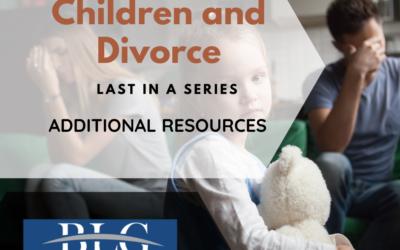 Children and Divorce – Parenting Plan Additional Resources