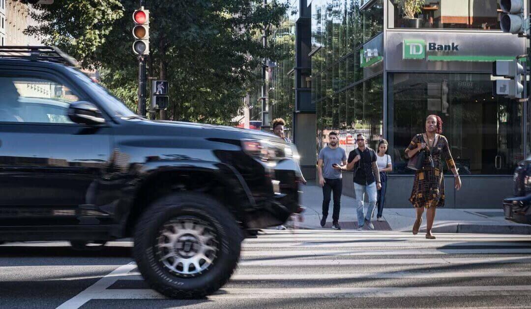 IIHS study: SUVs Present a Higher Pedestrian Accident Data Than Cars