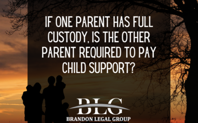 If One Parent Has Full Custody, Is The Other Parent Required to Pay Child Support?
