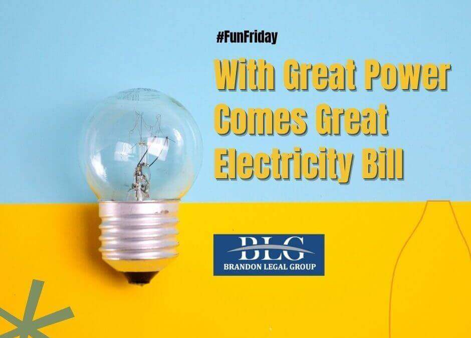 Fun Friday - With Great Power