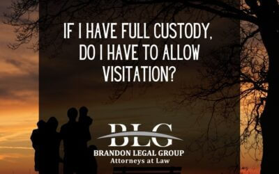 If I Have Full Custody, Do I Have to Allow Visitation?