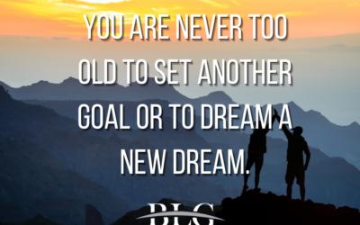 Motivational Monday – Dream a New Dream