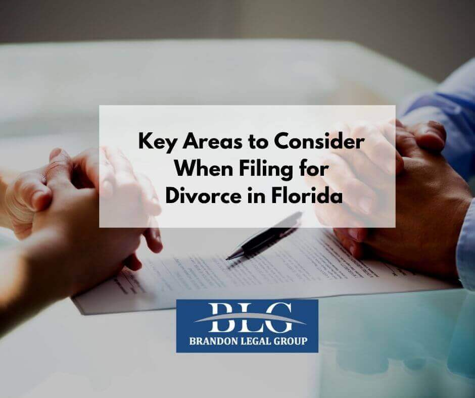 When Filing for Divorce in Florida