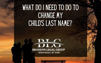 What Do I Need to Do to Change my Child's Last Name?