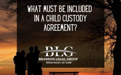 What Must Be Included in a Child Custody Agreement?