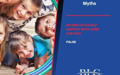 Child Support Myths – No One Pays Child Support with Joint Custody