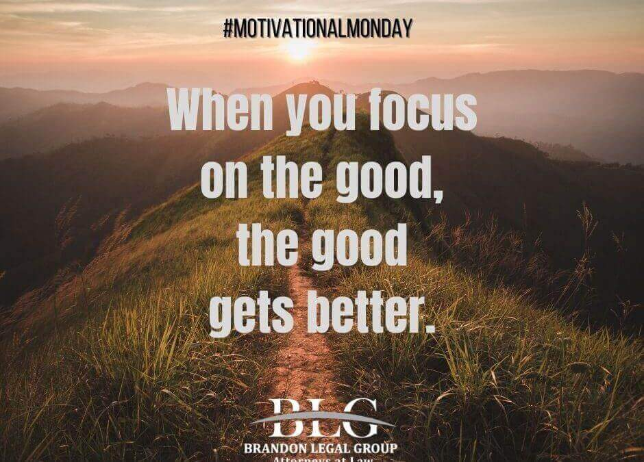 Motivational Monday - The Good Gets Better
