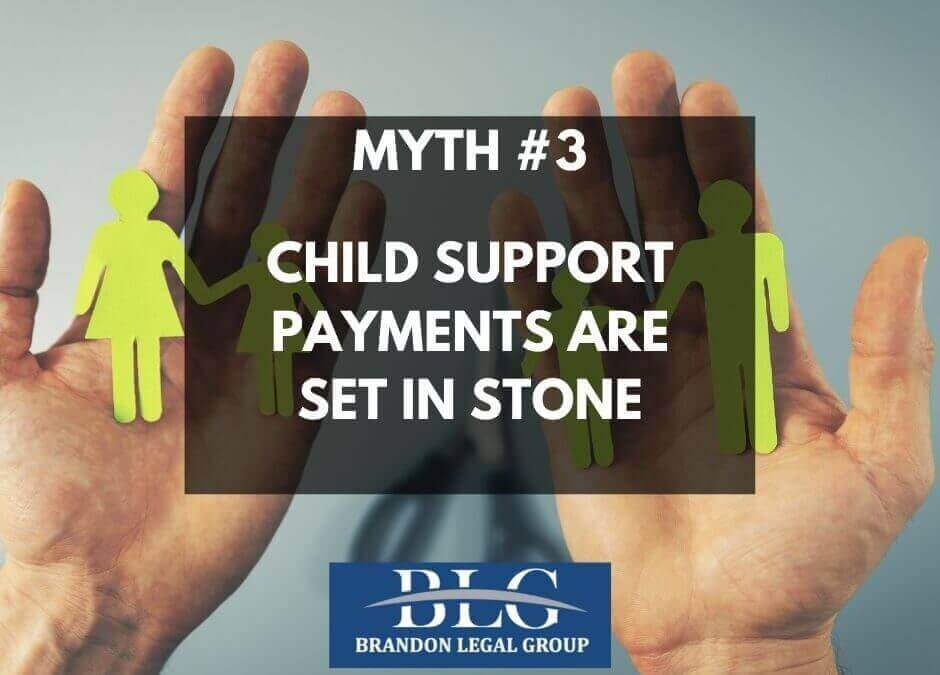 CHILD SUPPORT PAYMENTS ARE SET IN STONE