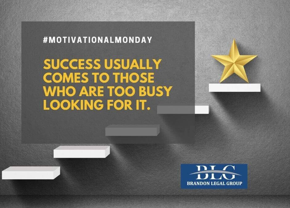 Motivational Monday – Look for Success